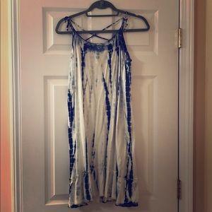Tie die summer dress